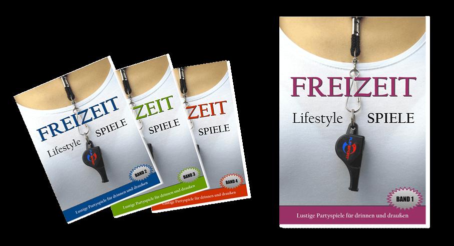 FREIZEIT Lifestyle Spiele Band 1 - 4