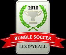 bubble soccer logo